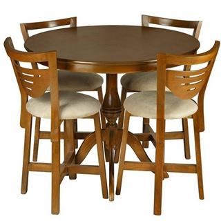 تصویر میز و صندلی ناهار خوری چوبی