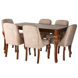 تصویر میز و صندلی ناهار خوری طرح کلاسیک