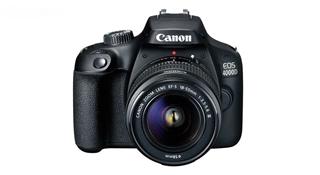 تصویر دوربین دیجیتال کانن مدل EOS 4000D به همراه لنز