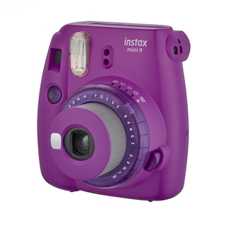 تصویر دوربین عکاسی چاپ سریع فوجی فیلم مدل Instax Mini 9 Clear